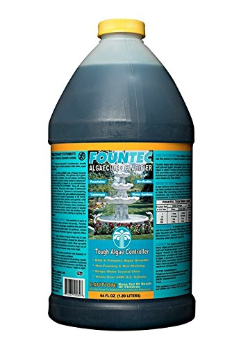 Fountec Algaecide (Fountec Fountain Algaecide Clarifier, 64 Ounce)