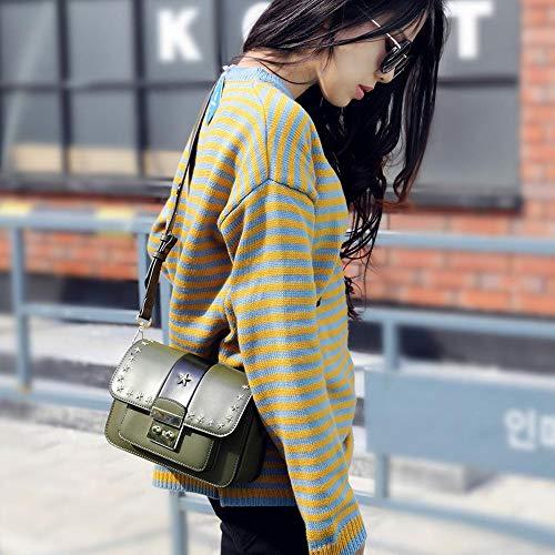 Femme Sac B Sxuefang Sac Sac côté Oblique Petit Fashion à Main Cuir Rnn58qa