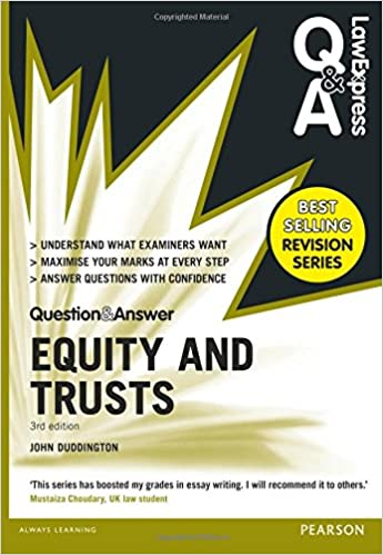 Equity trust law essays