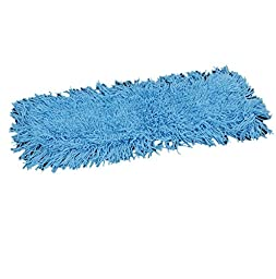 Rubbermaid Commercial Products Klean Kut Tufted Dust Mop Head 24-Inch x 5-Inch, Blue