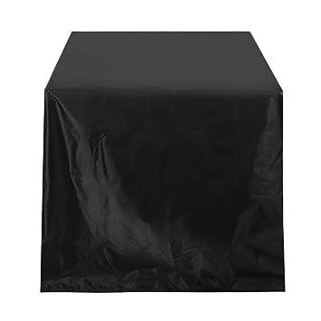 Funda para Muebles de Jardín Impermeable Oxford Cubierta Protectora de Polvo para Barbacoa sofá sillas de
