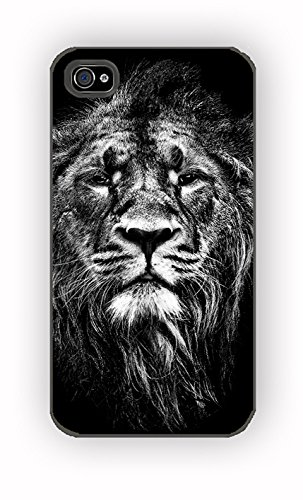 Male Asiatic Lion for iPhone 4/4S Case