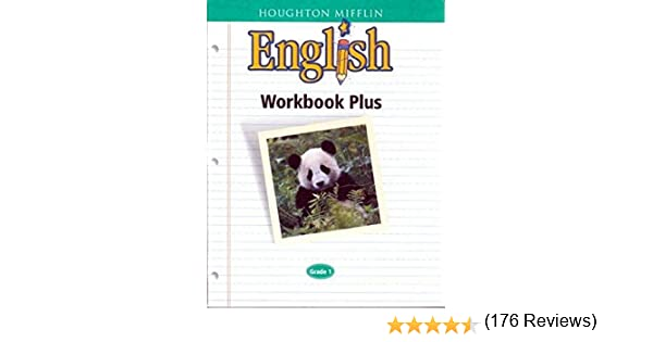 Houghton mifflin english workbook plus grade 1 houghton mifflin houghton mifflin english workbook plus grade 1 houghton mifflin 9780618090600 amazon books ccuart Choice Image