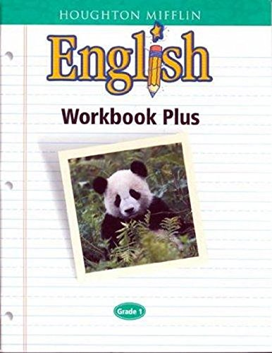 Houghton Mifflin English Workbook Plus Blackline Masters