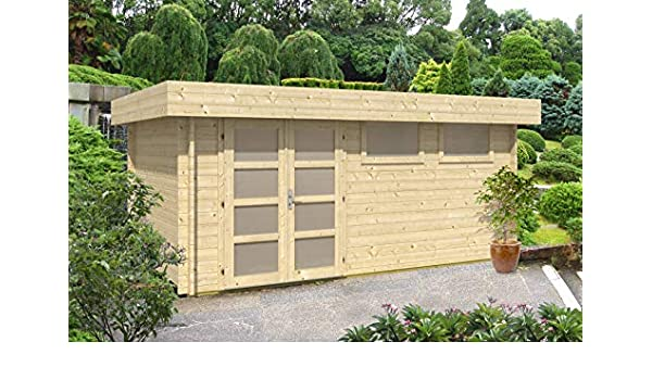 CARLSSON Kyara-44 ISO - Caseta de jardín (44 mm de Grosor, 500 x ...