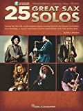 25 Great Sax Solos Bk Transcriptions Lessons Bios Photos Audio Online