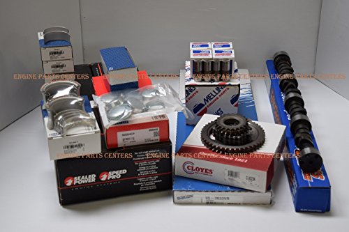 1968-86 SBC CHEVY 350 5.7L (2PC Rear Seal) HIGH PERF MASTER ENGINE REBUILD KIT CAMSHAFT (Perf Cam)