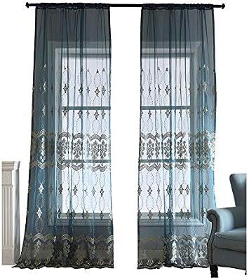 Merveilleux BW0057 Panneau De Rideau De Fenêtre Pour Chambre à Coucher Et Salle à Manger  Motif Dessin ...