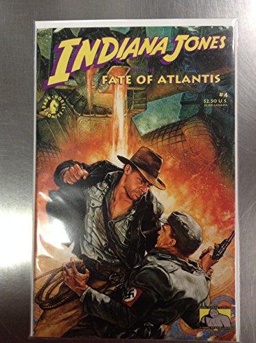 Indiana Jones & the Fate of Atlantis #4 (Indiana Jones And The Fate Of Atlantis)