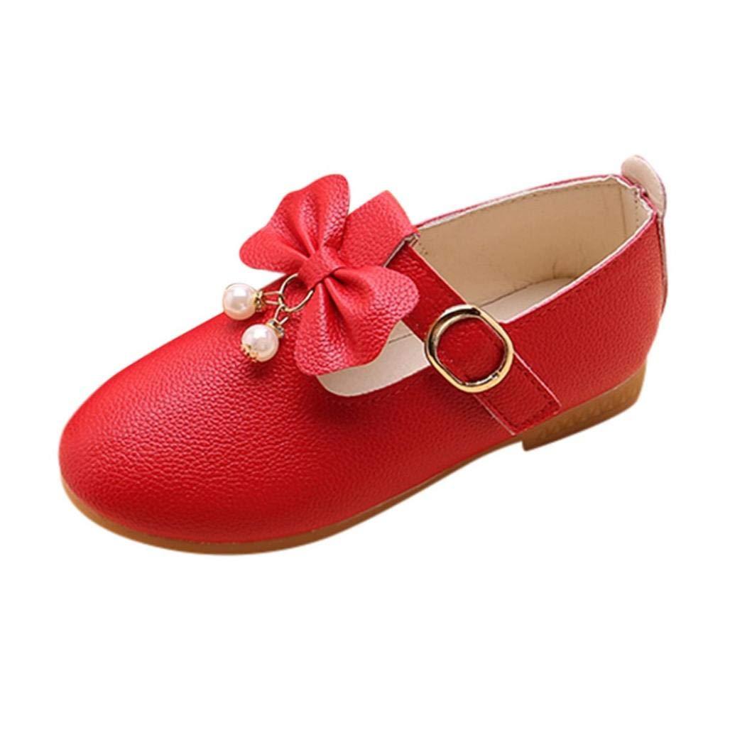 95a89e5ca2e9 Zapatos de Cuero para Niñas Otoño Invierno 2018 Moda PAOLIAN Zapatos de  Vestir Princesa Boda Calzado