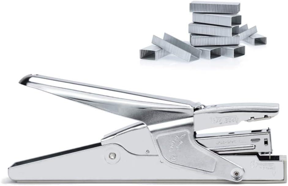 Office Stapler Heavy Duty Plier Staplers Hand Held 30 Sheet Stapler Papers Stapling Machine with 1000 Staples