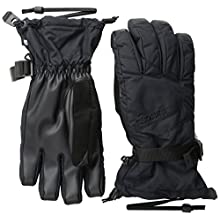 BURTON Men's Profile Gloves, True Black, Medium