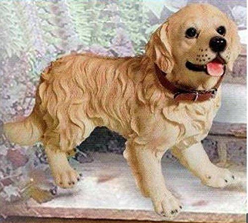 Retired C & F Trading Co. Golden Retriever Dog Figurine