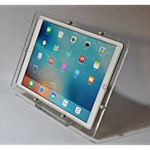 iPad Pro 12.9 Security Desktop Stand made of Acrylic for POS, Kiosk, Store, Show Display (Clear)