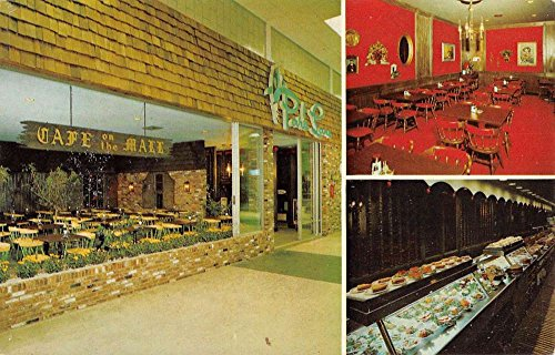 Lauderhill Florida Park Lane Cafeteria Multiview Vintage Postcard K64383