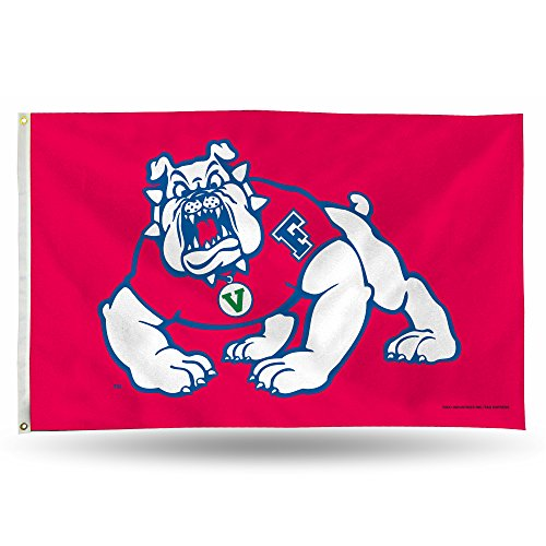 Fresno State Bulldogs Official NCAA 3' x 5' Banner Flag by Rico Industries