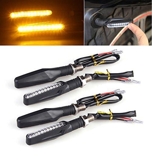 LTC - 4 luces LED para bicicleta de motocicleta, 12 luces LED ...