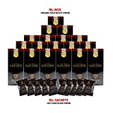 Organo Gold Gourmet Black Coffee with Ganoderma Lucidum (18 Boxes) + Free Organo Gold Hot Chocolate sachets x 10 + Free Express Shipping to USA 2-3 days
