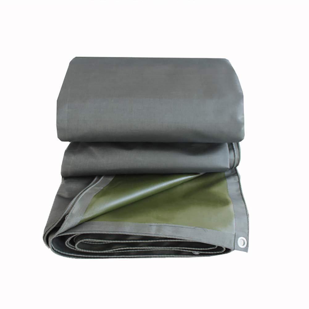 TDLX Verdicken Sie Wasserdichte Plane-Heavy Duty-Planen-Plane Boden-Blatt-Abdeckungen im Freienisolierungs-Grün-Zelt-Spleiß (größe   3x3m)