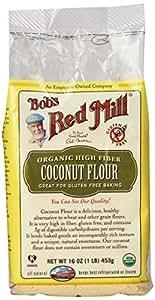 Bob's Red Mill, Coconut Flour, Organic, 16 oz