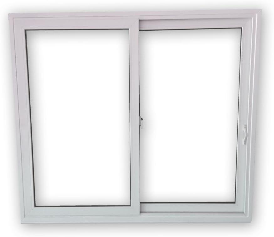 Schiebefenster SFS 2-fach-Verglasung 2-fl/ügelig BxH: 1500x1300 mm Beide Seiten zum /öffnen