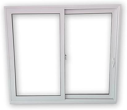 BxH: 1700x1000 mm 2-fl/ügelig Schiebefenster SFS Beide Seiten zum /öffnen 2-fach-Verglasung