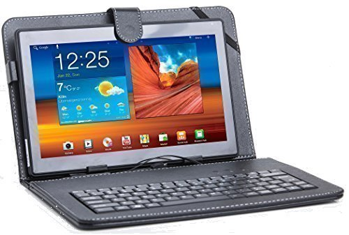 XIDO 110 - 10 Zoll Tablet Pc (10,1 Zoll) Tablet-PC Tastatur, 1 GB RAM, 16GB Speicher, Android 5.1 Lollipop Quad Core, Computer