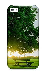 New Arrival Case Specially Design For Iphone 4/4s (nice Green Landscape )