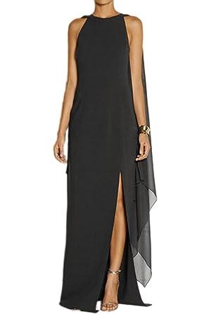 Fanvans Les Femmes Elagant Longue Robe En Mousseline Promo Formelle De  Robes De Soirée Avec Le 4060d3fe297