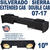 Chevy Silverado & Gmc Sierra Extended cab / Double-Cab subwoofer box