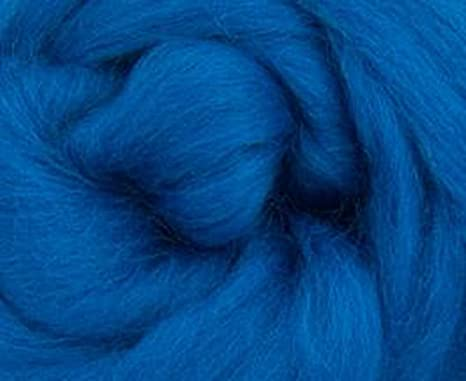 Corriedale Wool Roving One Ounce Assorted Colors for Felting and Spinning Natural White