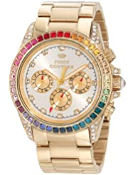 Juicy Couture Womens 1901038 Stella Gold Plated Bracelet Watch