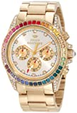 Juicy Couture Women's 1901038 Stella Gold Plated Bracelet Watch