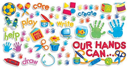 - Scholastic Teacher's Friend Our Hands Can Bulletin Board (TF8040)