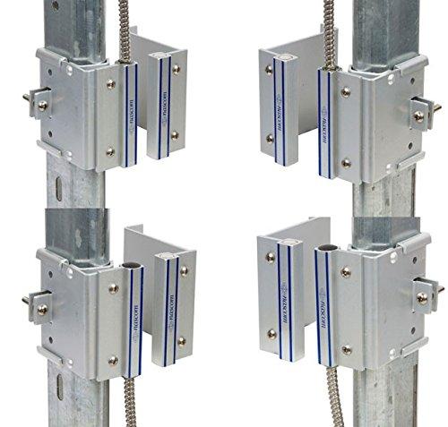 Nascom N505AUTM/ST Overhead Door Rail (2-1/4