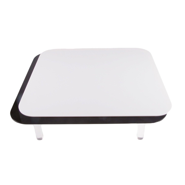 Fovitec StudioPRO Magnetic Display Table, Black/White 12'' x 12'' by Fovitec