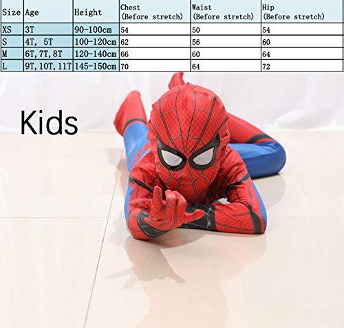 Desconocido Homecoming - Disfraz de Spiderman para niños y ...