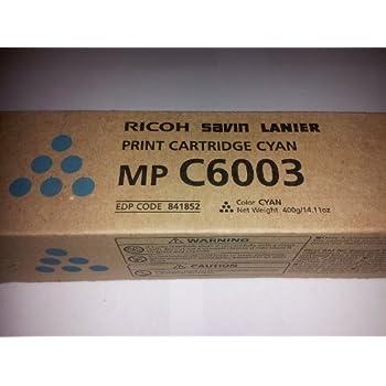 Amazon com: Ricoh MP C4503, C5503, C6003 Black Toner Cartridge