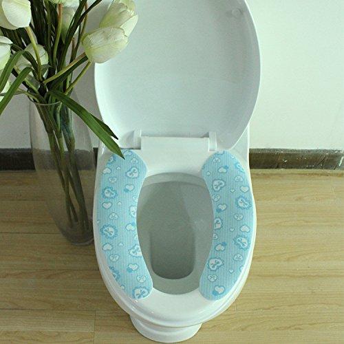 TS-nslixuan-wc Kissen das Badezimmer WC Mat Mat DREI Stück Bad Mat, B B077RXYNPB Duschmatten