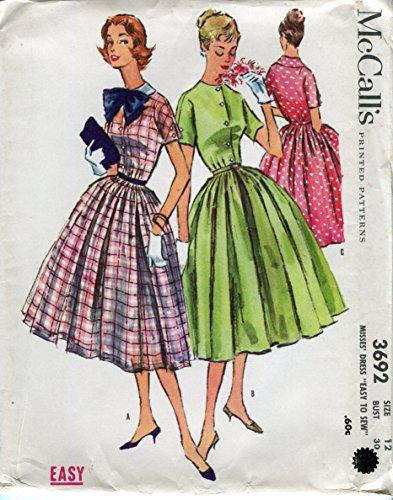 50s dress patterns mccalls - 6