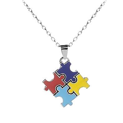 Gudeke Conciencia del Autismo Pieza de Puzzle Rompecabezas ...