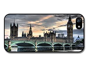 London Photography Parliament Westminster Bridge Travel Cool Fashion case for iPhone 5 5S