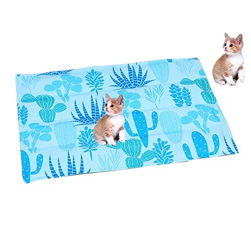 ce0216f04ab1 Dog Cooling Mat Pet Ice Pad Teddy Mattress Pet Cool Mat Bed Cat Cushion  Summer Keep Cool Pet Gel Cooling Dog Mat for Dogs,XL