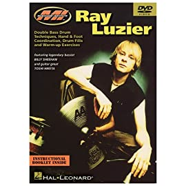 Picture of the cover of Ray Luzier DVD Double Bass Drum Techniques