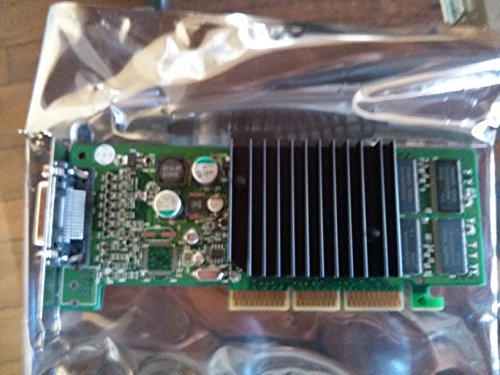Compaq Genuine Nvidia Quadro4 200NVS AGP ATX Dual Monitor Video Graphics Board (with Short Bracket Only!) - Refurbished - 319627-001