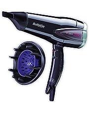 BaByliss Expert - Secador de pelo con difusor, 2300 W, función turbo, aire