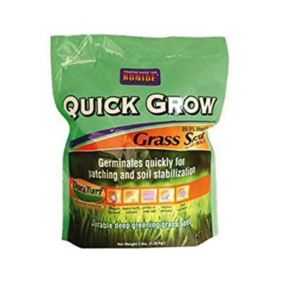 Bonide Products 60264 Grass Seed, Quick Grow, 7-Lbs.