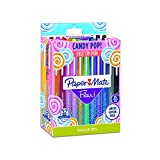 Paper Mate Flair Felt Tip Pens, Medium Point, Limited Edition Candy Pop Pack, 32 Count