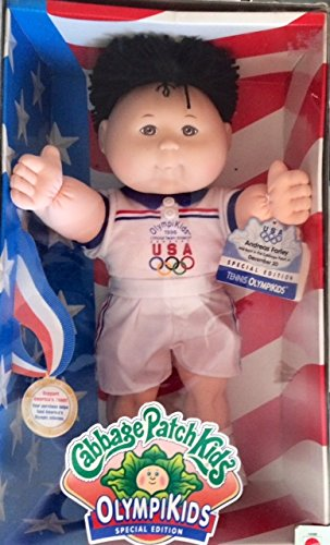 Cabbage Patch Kids OlympiKids Special Edition Swimming Caucasian Girl Black hair by Cabbage Patch (Cabbage Patch Kids Pictures)