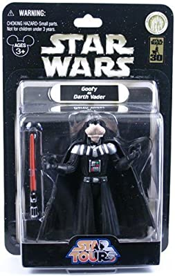 Disney Star Tours Wars Goofy as Darth Vader figure